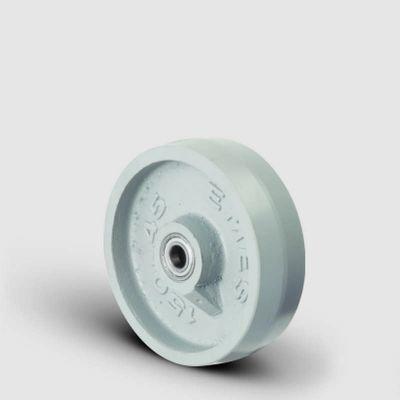 EMES - VBV125x40 Döküm Tekerlek Çap:125 Bilya Rulmanlı Genişlik:40 Ağır Tip Demir Tekerlek