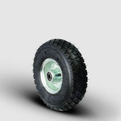 EMES - SBRH3.50-8x25 4pr Sac Jantlı Havalı Tekerlek, Çap:370, Genişlik:90, Bilya Rulmanlı, 4 Kat Şişme Tekerlek