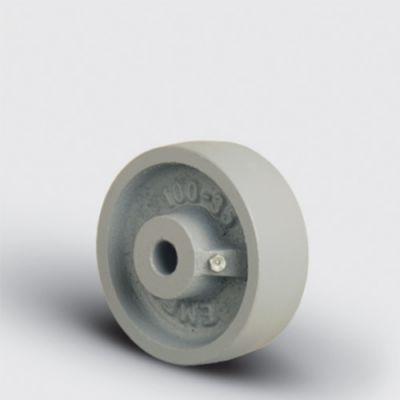 EMES - VKV150x45 Döküm Tekerlek Çap:150 Burçlu Genişlik:45 Ağır Tip Demir Tekerlek