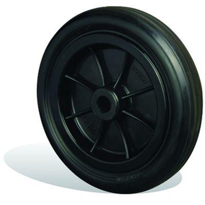 EMES - ZKR3000x50 Plastik Jantlı Kauçuk Kaplı Çap:300 Burçlu Tekerlek