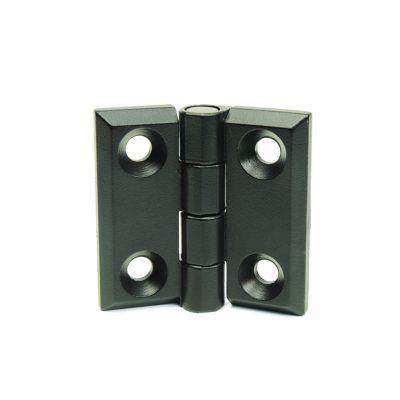 EMES - Burçlu Siyah Metal Menteşe, 40x40, ZMB4040