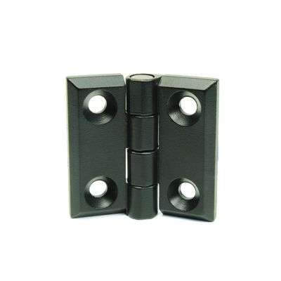 EMES - Burçlu Siyah Metal Menteşe, 50x50, ZMB5050