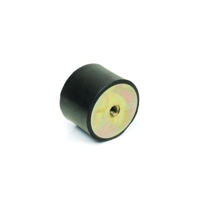 EMES - TBBP 1050 16 Çift Taraf Burçlu Titreşim Takozu Çap:100 Yükseklik:50, Pullu, 100x50 M16 Burçlu