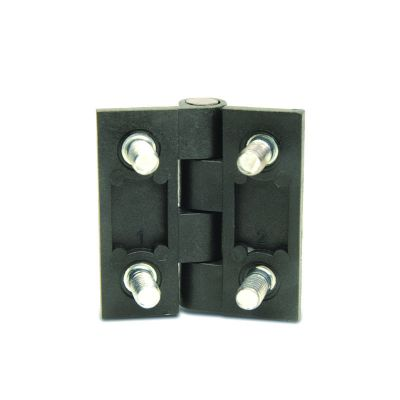 EMES - PMC4040 Civatalı Plastik Menteşe En-Boy:40x40 Delik Eksenleri: 25x25 M5x9 Civatalı