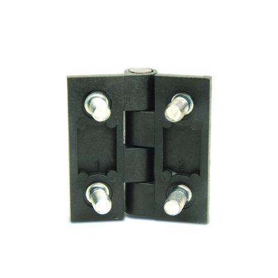 EMES - PMC5050 Civatalı Plastik Menteşe En-Boy:50x50 Delik Eksenleri: 30x30 M6x11 Civatalı