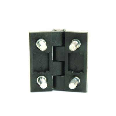 EMES - Civatalı Siyah Metal Menteşe, 60x60, ZMCB6060