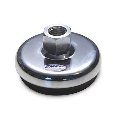 EMES - KKAB1016 Krom Kaplı Ayak Burçlu Çap:100 M16 Somunlu