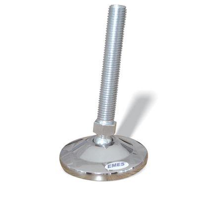 EMES - MAM601610 Mafsallı Metal Ayak Çap:60 M16x100mm Civatalı