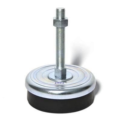 EMES - MDASç202415 Makine Denge Ayağı Sabit Çinko Ağır Tip, Çap:200, M24x150mm