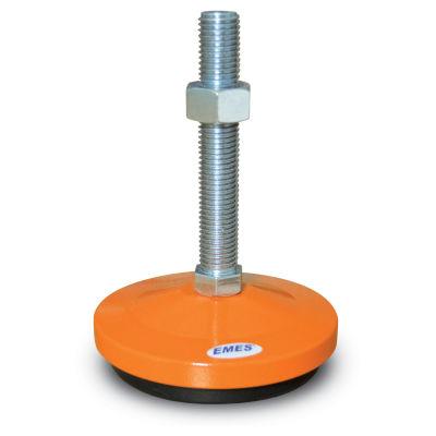 EMES - MAS102415 Sabit Metal Ayak Çap:100 M24x150mm Civatalı