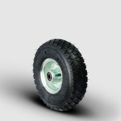 EMES - SBRH3.50-7x20 4pr Sac Jantlı Havalı Tekerlek, Çap:350, Genişlik:90, Bilya Rulmanlı, 4 Kat Şişme Tekerlek