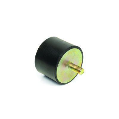 EMES - TCP 5040 10 Tek Taraf Civatalı Titreşim Takozu Çap:50 Yükseklik:40, Pullu, 50x40 M10 Civatalı