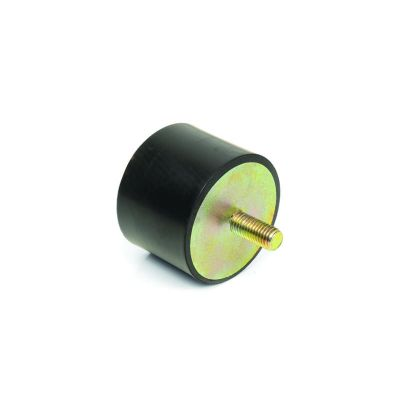 EMES - TCP 5050 10 Tek Taraf Civatalı Titreşim Takozu Çap:50 Yükseklik:50, Pullu, 50x50 M10 Civatalı